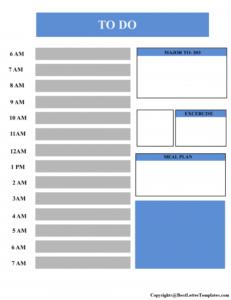 Employee Task List Template