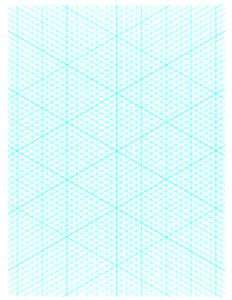 Isometric Grid Paper